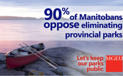 Defend Manitoba Parks – Keep them Public